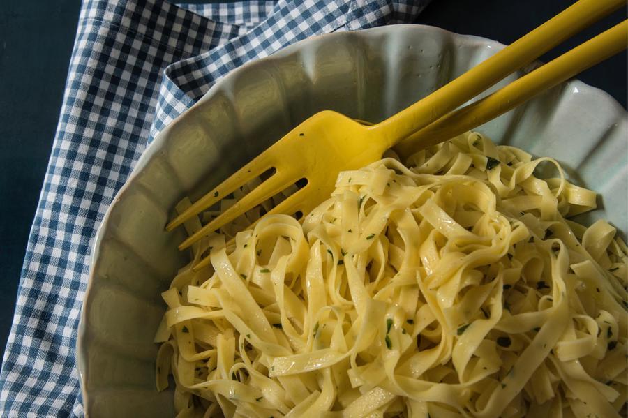 Fettuccine na Manteiga