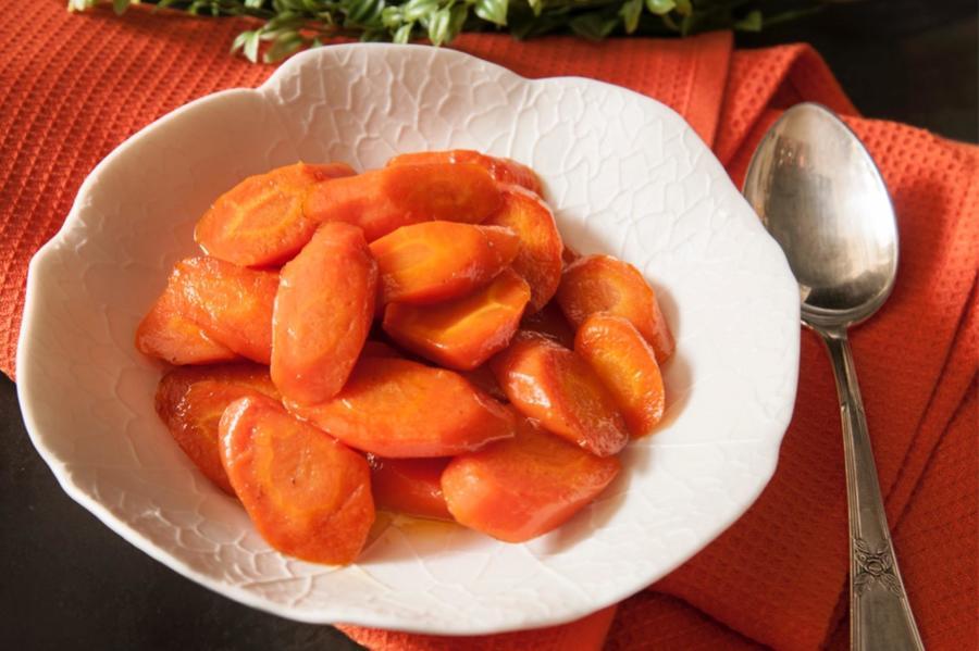Cenoura Vichy Glaçada