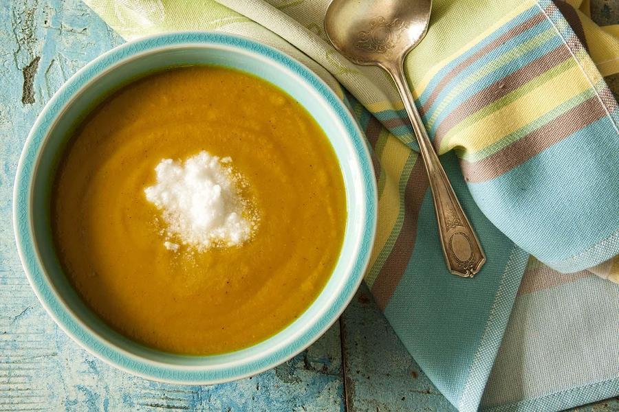 Sopa de Batata- Doce com Coco