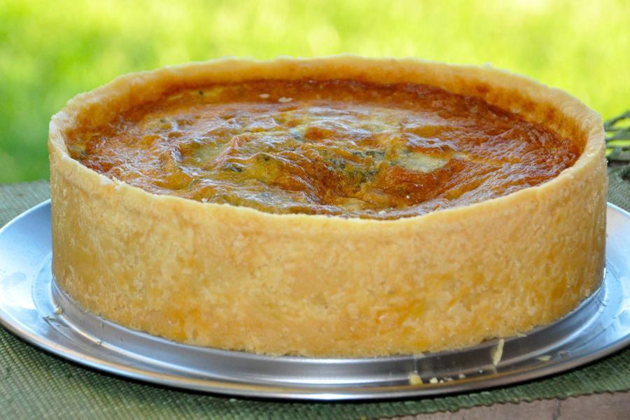 Torta de Abóbora com Gorgonzola