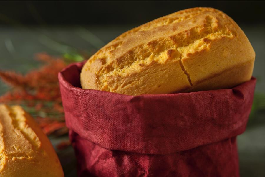 Pão de Fubá sem Glúten
