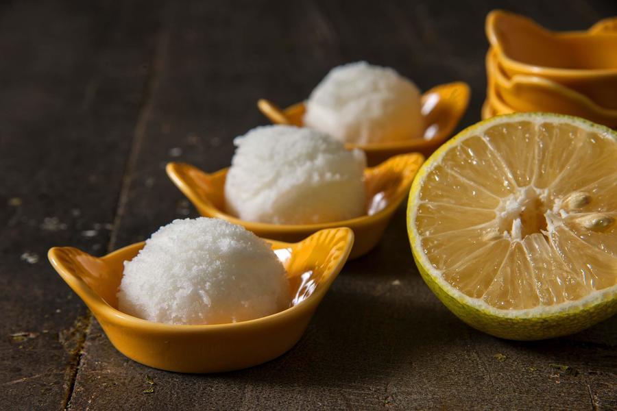 Sorvete de Limão e Lima