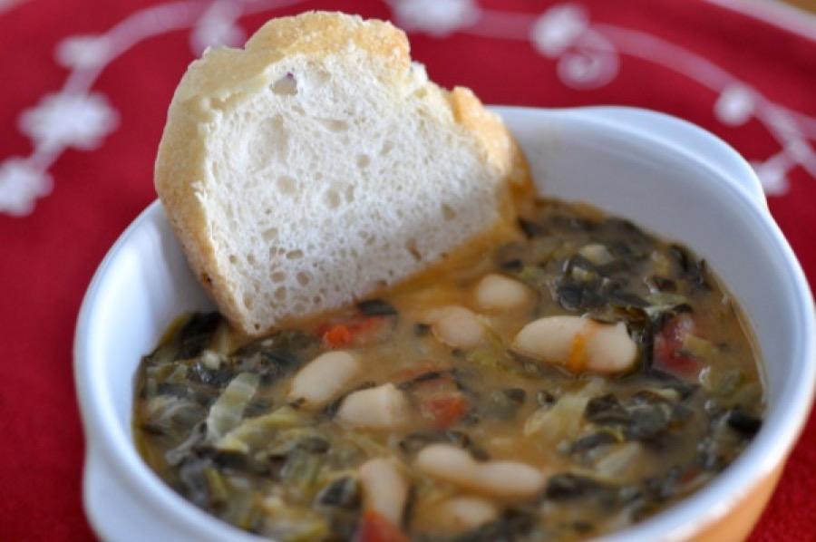 Ribollita - Sopa Toscana de Vegetais