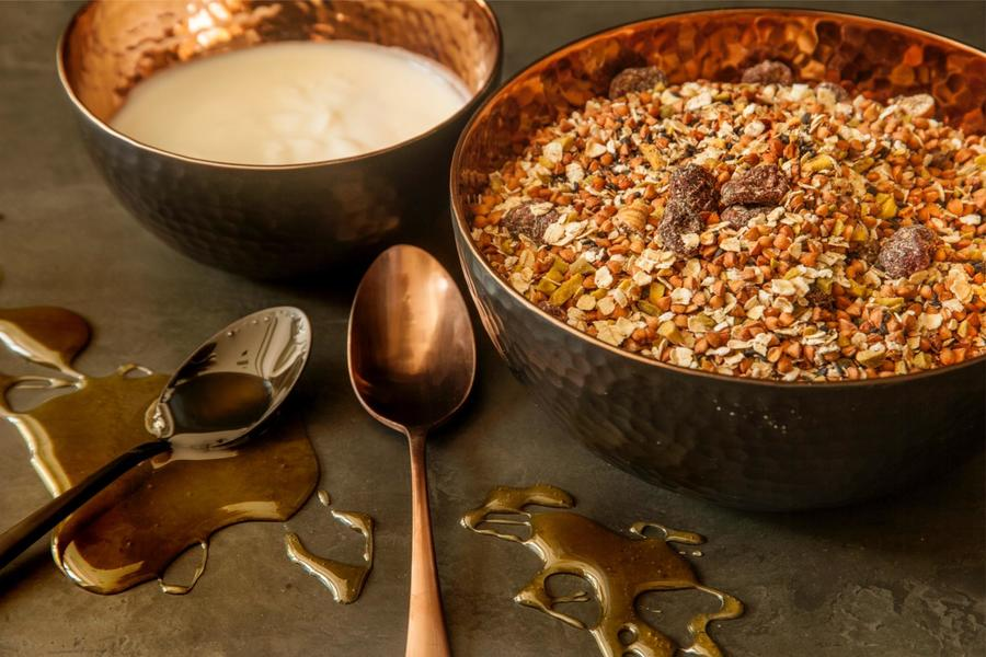 Confeitos (ou Granola) de Pistache e Figo
