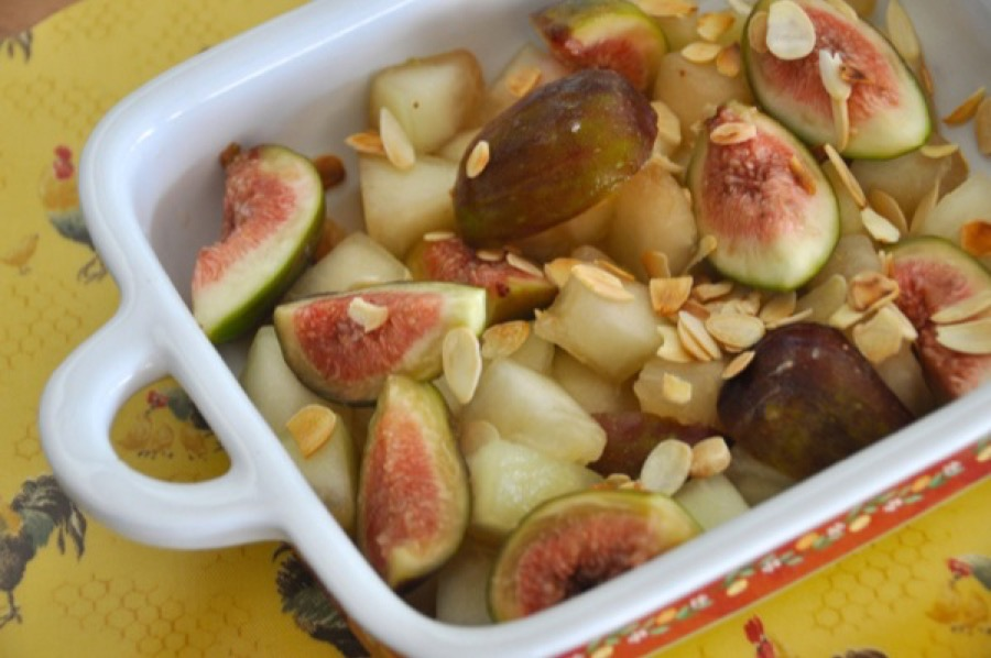 Salada de Melão com Figo