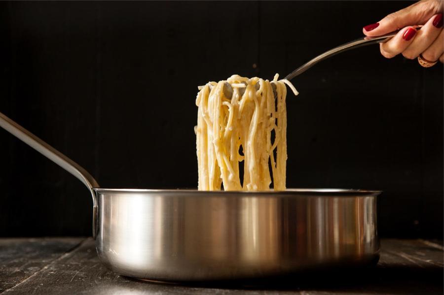 Spaghetti al Limone e Creme de Leite