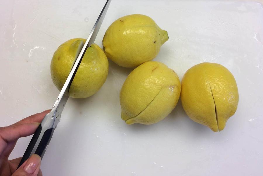 Limão Confitado