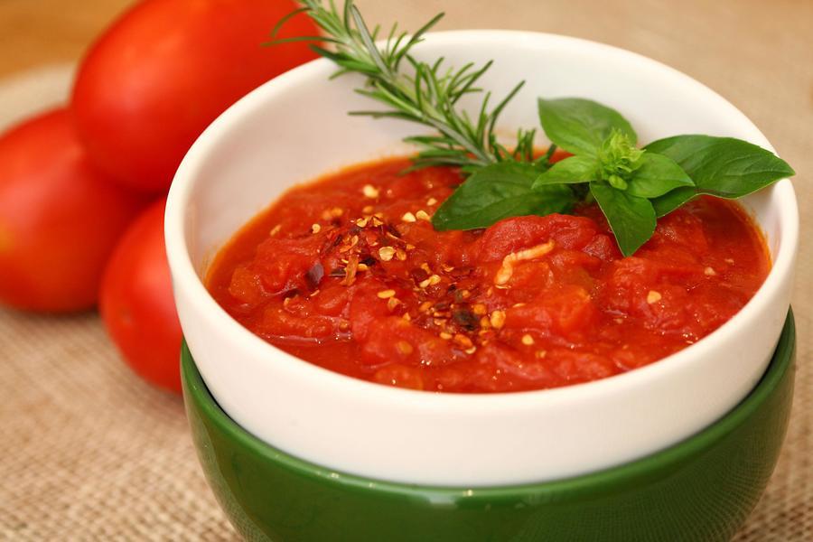 Molho de Tomate e Pimenta (Arrabiata)