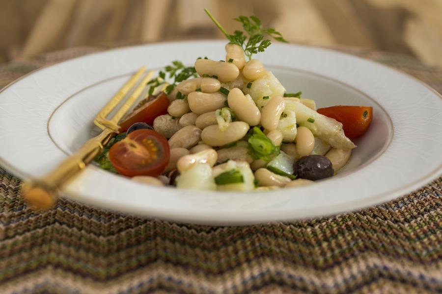 Salada de Feijão-Branco