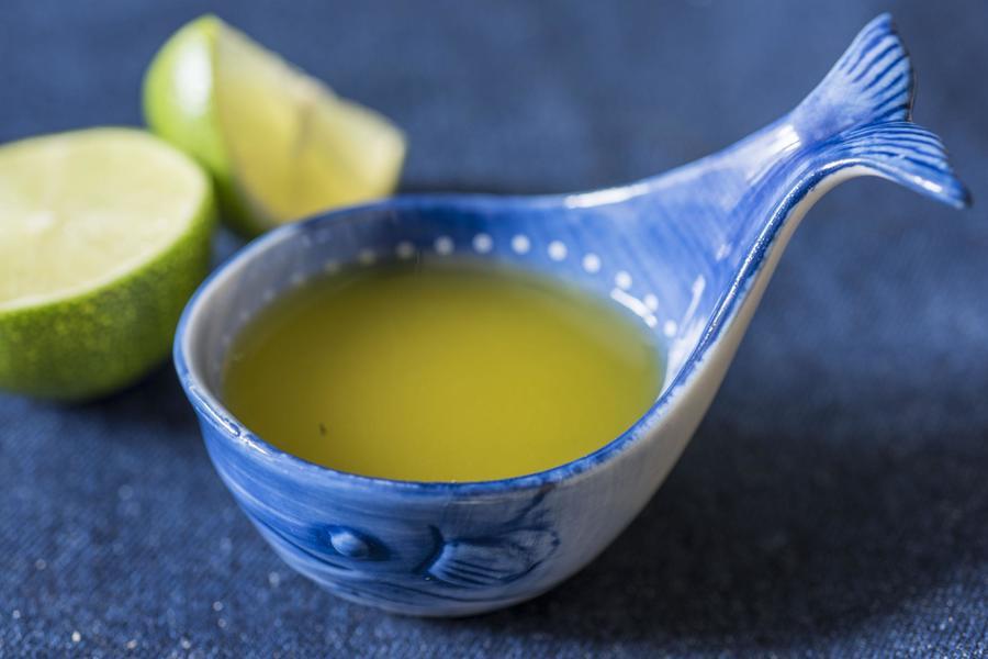 Molho de Limão para Salada