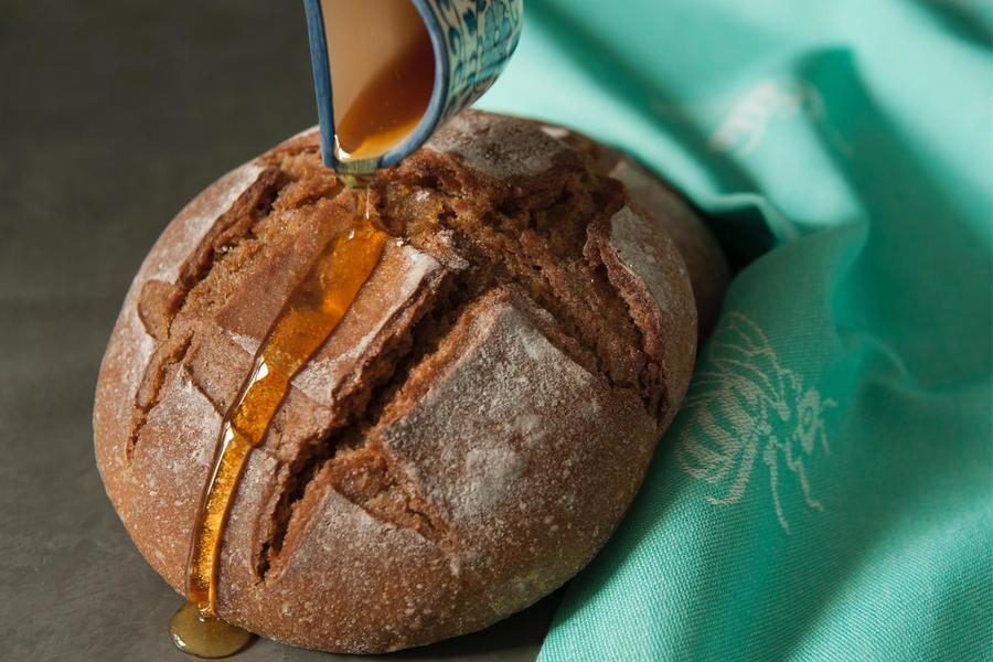 Pão de Centeio com Mel