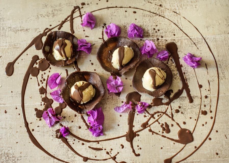 Gelado de Chocolate Branco