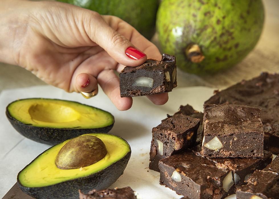 Brownie de Chocolate com Avocado