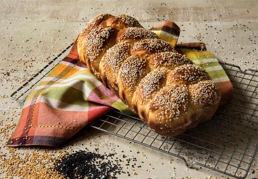 Pão com Soro de kefir