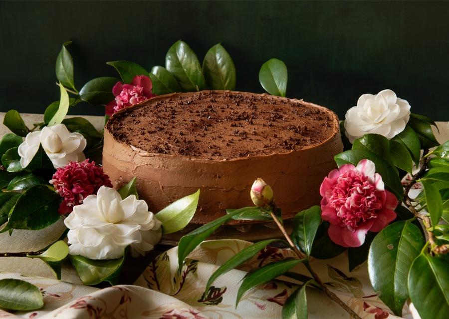 Bolo-Mousse de Café