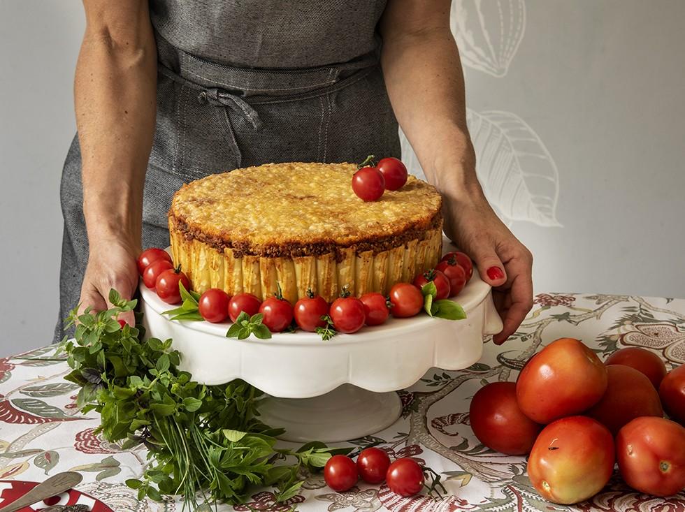 Torta de Rigatoni