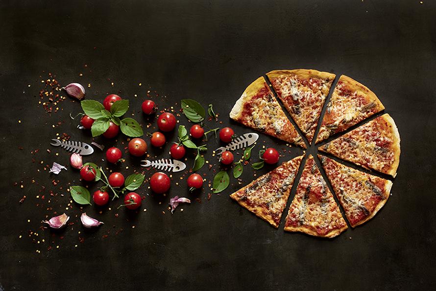 Pizza de Fermentação Lenta de Alici