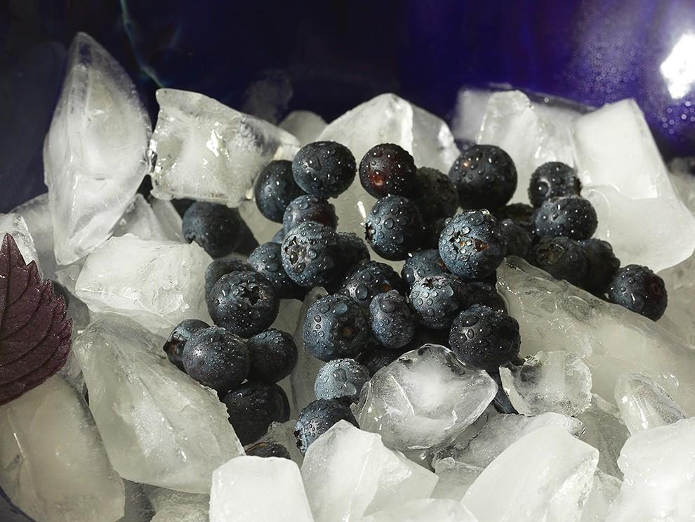 Picolé de Blueberry