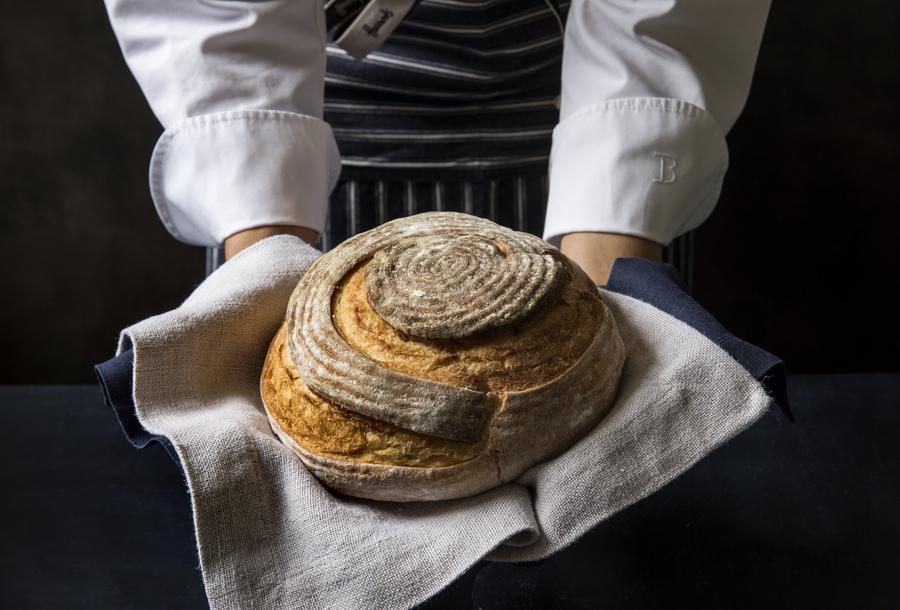 Pão de Sova Manual com 74% de Hidratação