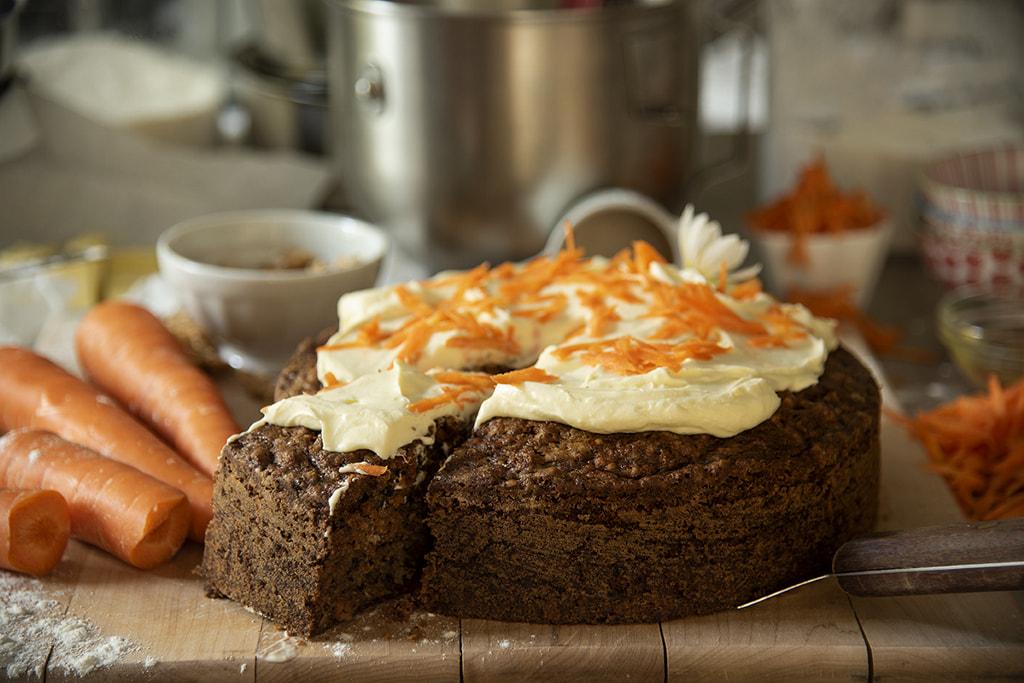 Carrot Cake (Bolo de Cenoura Americano)