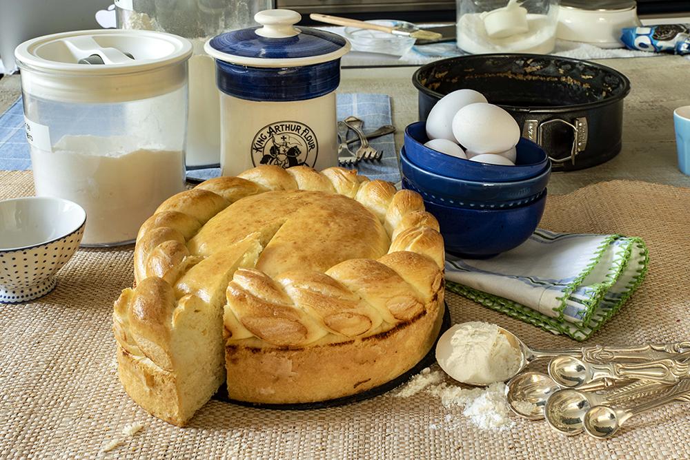 Paska (Pão de Páscoa Ucraniano)