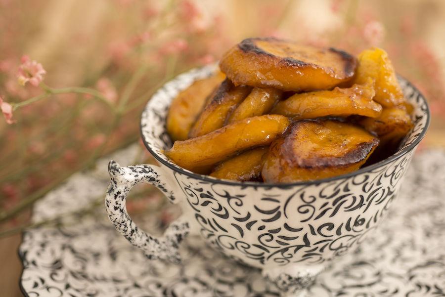 Banana-da-Terra Cítrica Caramelizada com Açúcar de Palmeira