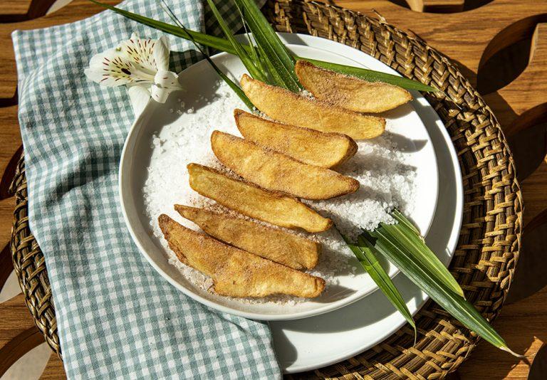 Batata Rústica com Páprica e Cominho