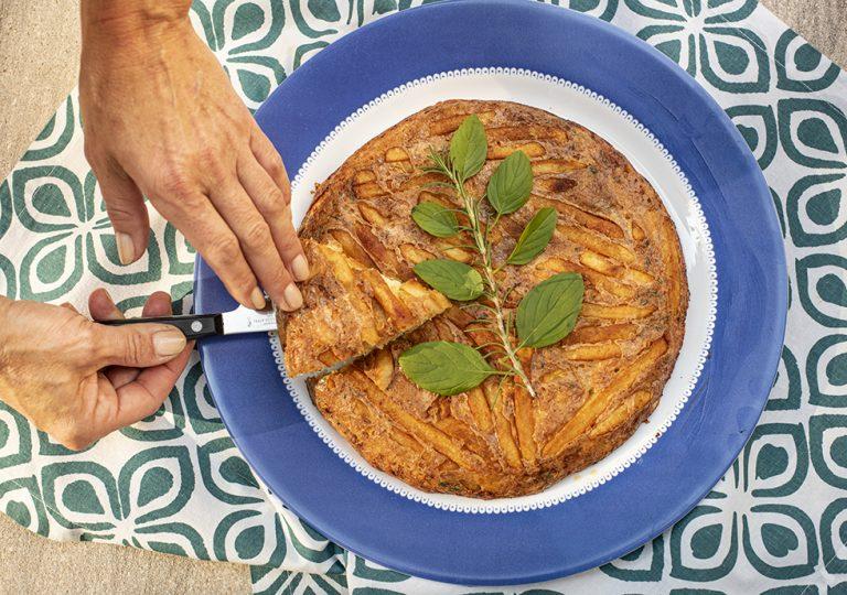 Fritada Uruguaia de Batata com Queijo