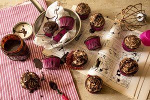 Cupcake de Chocolate sem Lactose
