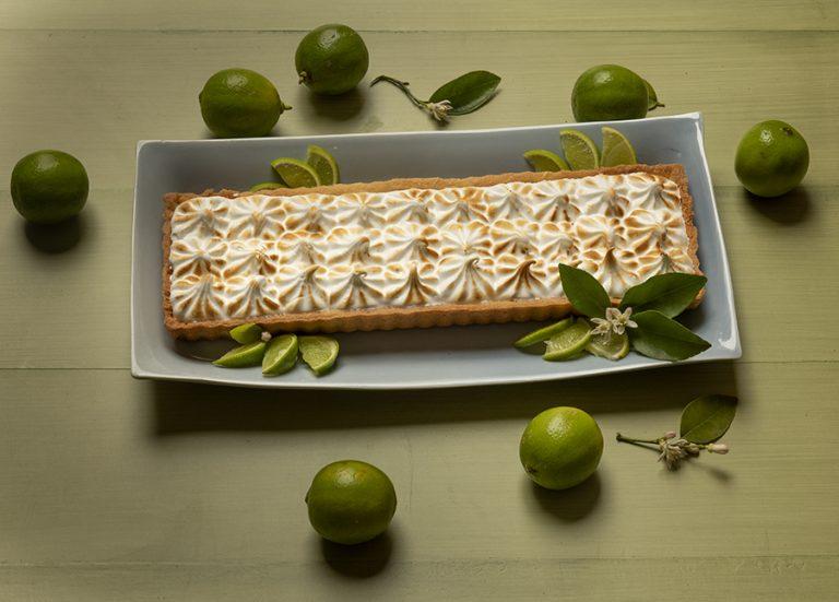 Torta de Limão com Cobertura de Merengue