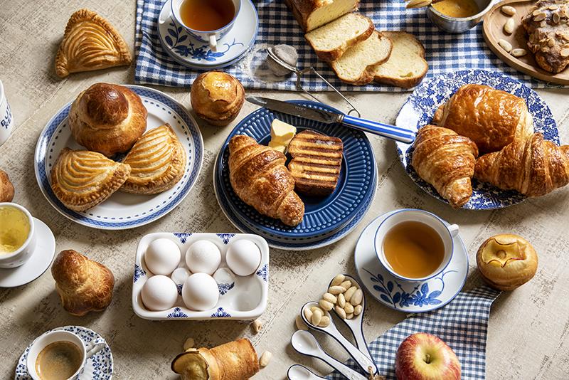 Croissant, folhados & brioches