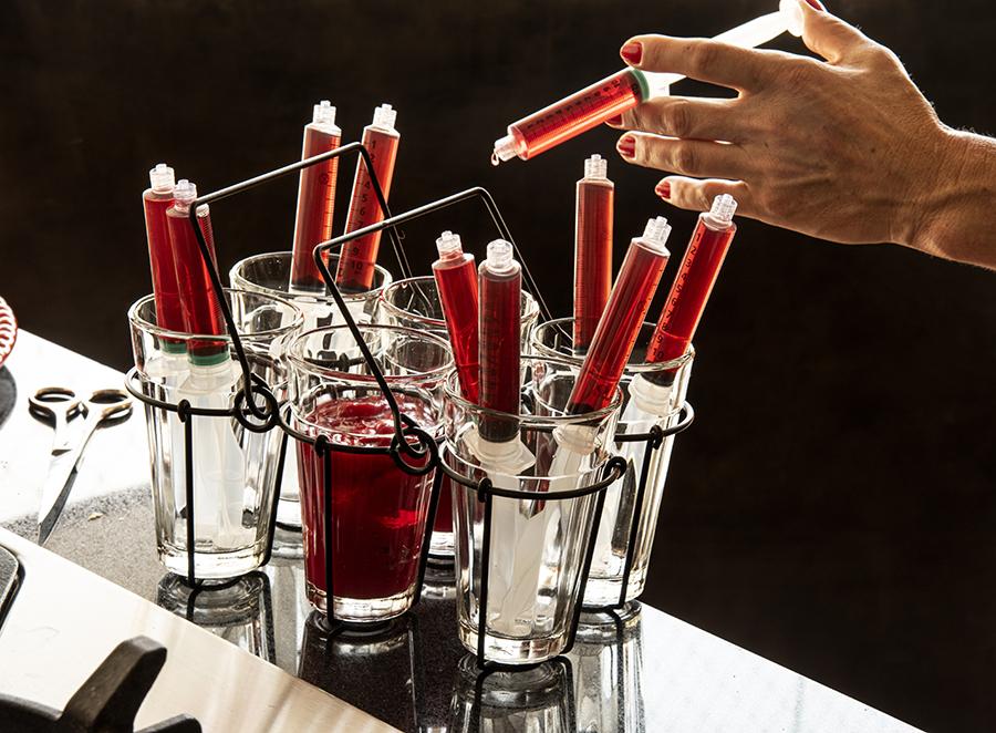 Seringas de Sangue Envenenado (Seringas com Gelatina)