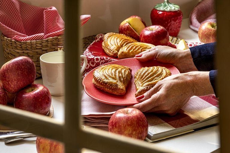 Chaussons aux Pommes (Folhados de maçã)