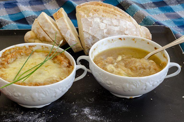 Sopa de Cebola Gratinada de Auxonne