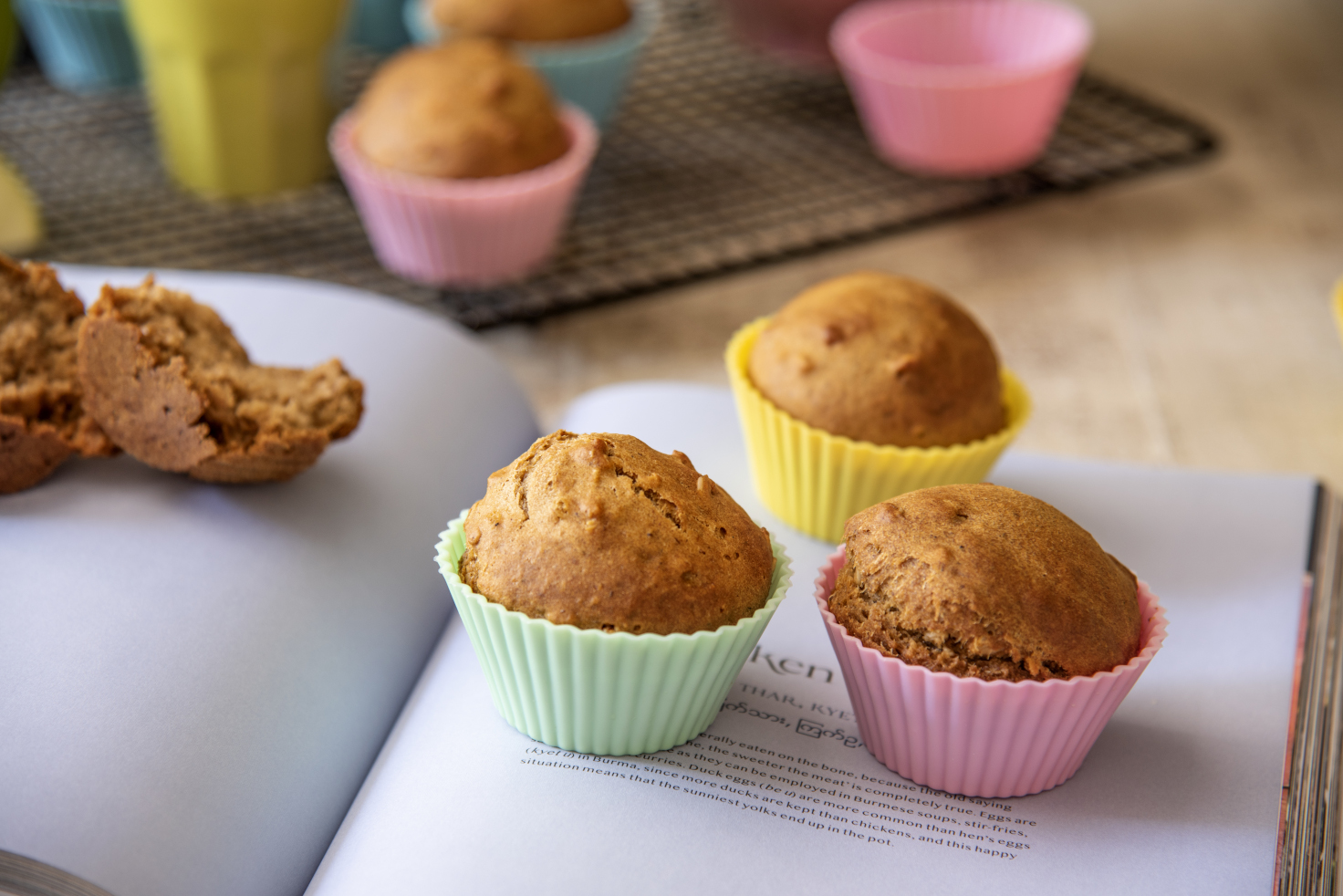 Muffins de Granola