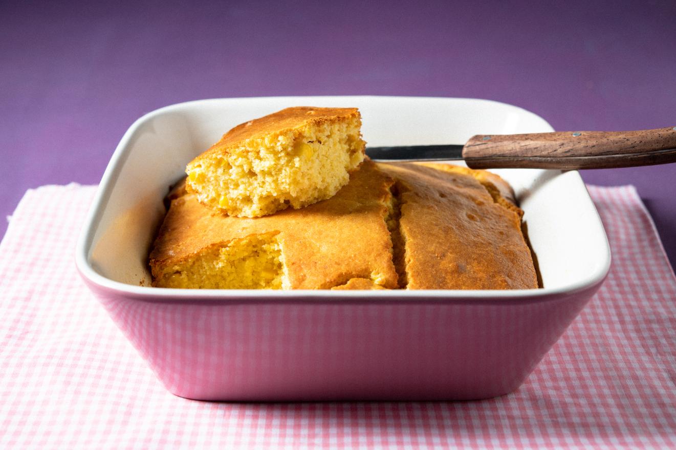 Pão Rústico Crocantíssimo de Fubá e Milho Verde
