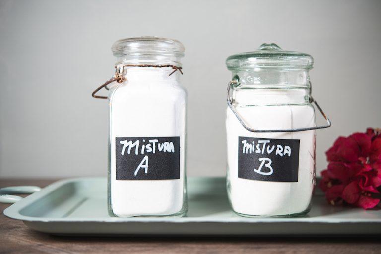 Mistura Básica de Farinhas A (Para composição de receitas sem glúten que utilizam fermento químico)