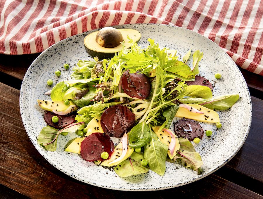 Salada Verde e Roxa