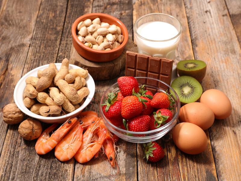 Radar de alérgenos: principais alimentos que causam alergias