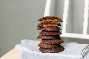 Cookie Recheado de Doce de Leite