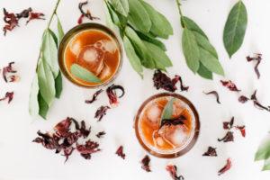 Suchá de Hibisco, Berries, Gengibre e Canela