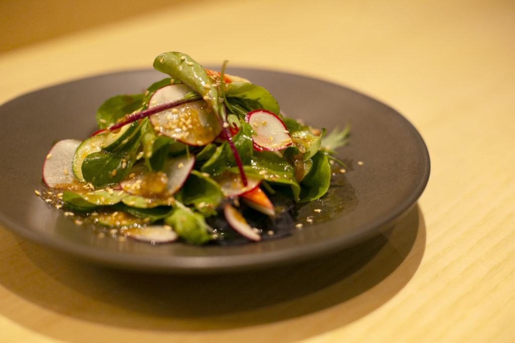 Salada da Horta com Molho Wafu