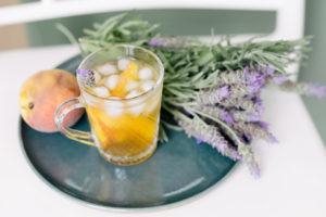 Chá de Lavanda e Pêssego