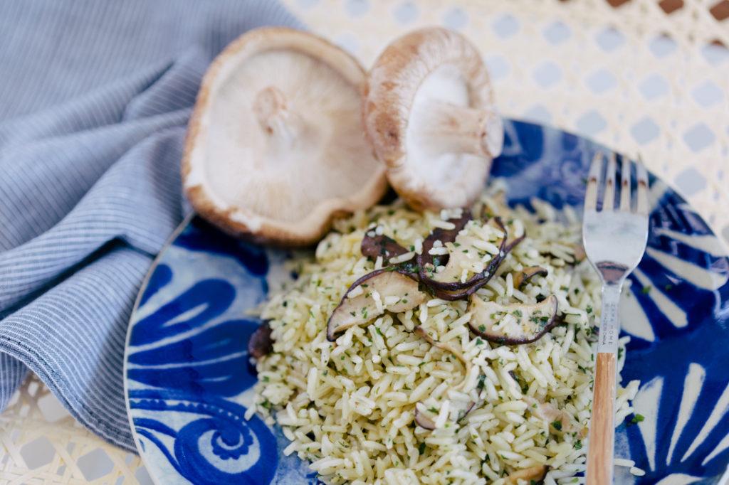 Arroz Pilaf de Cogumelos