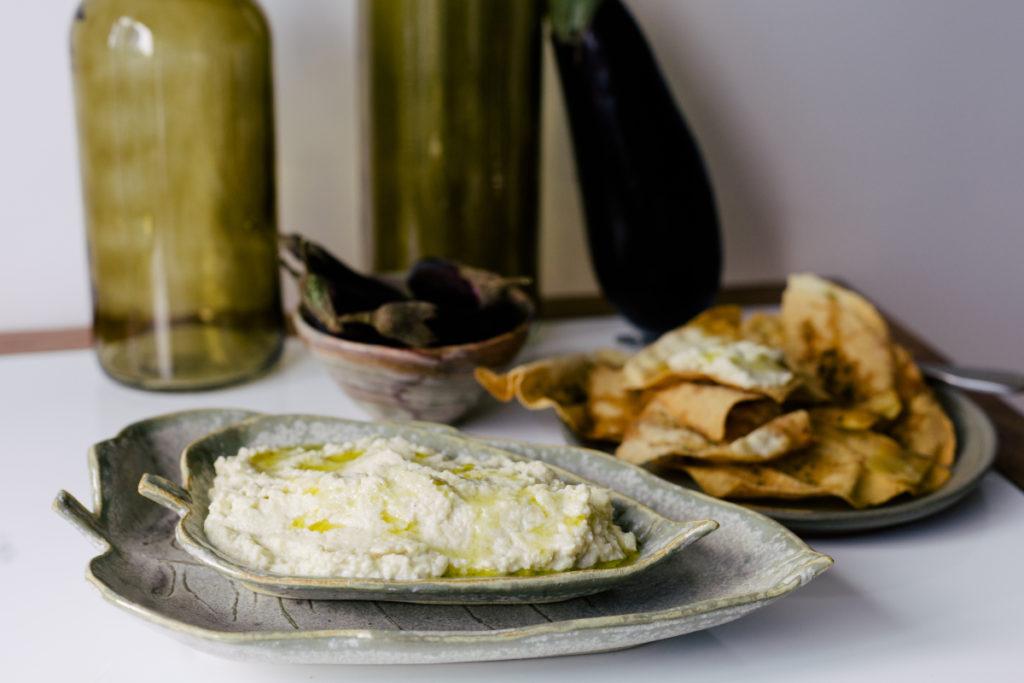 Babaganuche (Pasta de Berinjela Defumada)