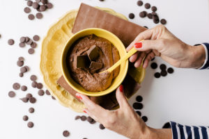 Creme de Chocolate com Biomassa de Banana