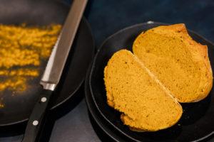 Pão Amarelo de Cúrcuma