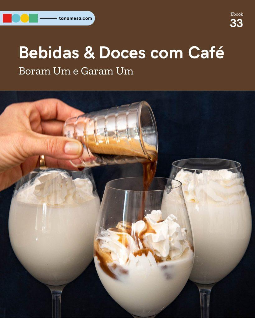 Bebidas e Doces com Café