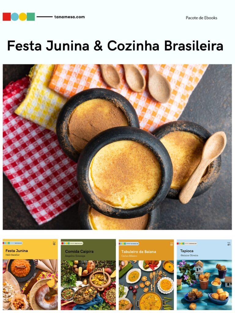 Kit Festa Junina e Cozinha Brasileira