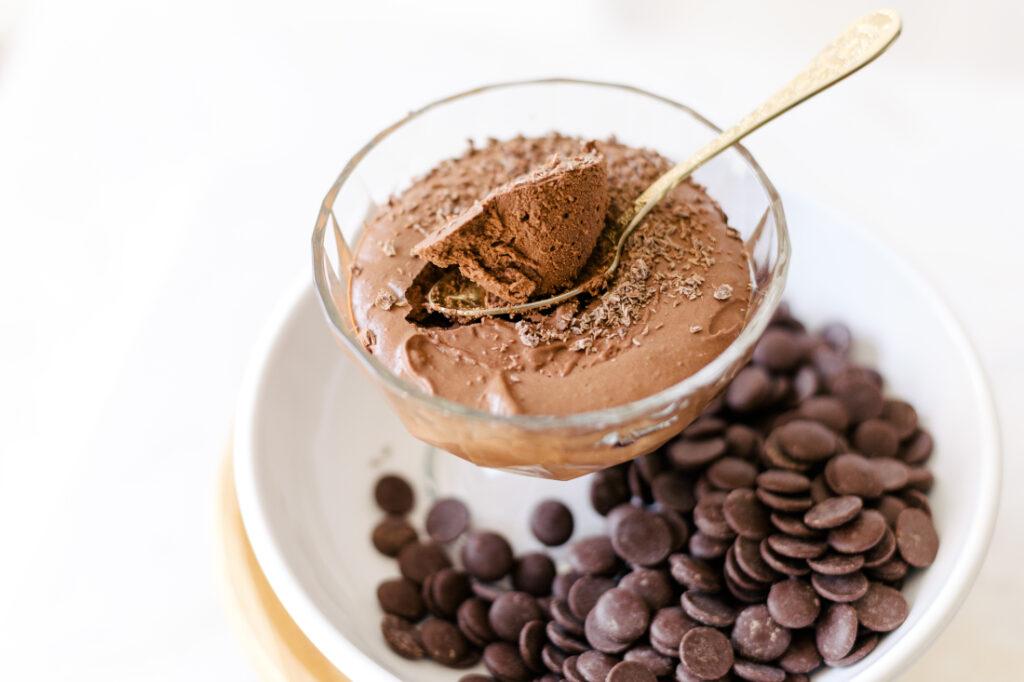 Mousse de Chocolate com Iogurte